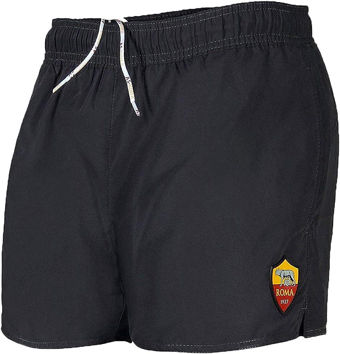 13118 AS Roma Costume Shorts in Nylon Bambino Prodotto Ufficiale Art