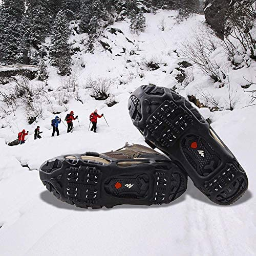 Yaktrax Walker Snow Ice Walking Traction Anti Slip Size M 41-43 Rrp £14.99