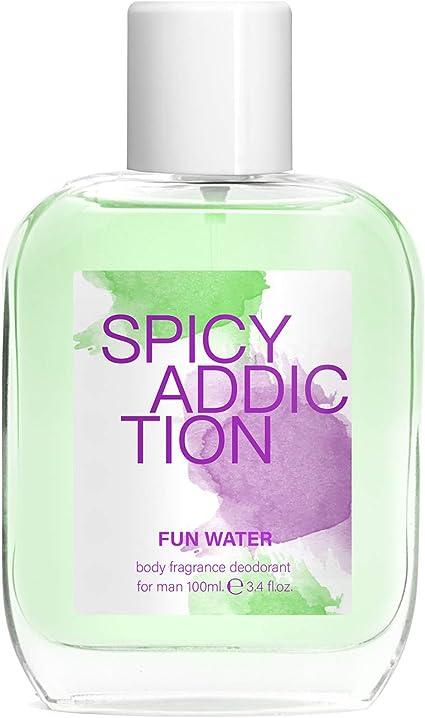 Fun Water Spicy Addiction - Desodorante para hombre (100 ml, pack ...