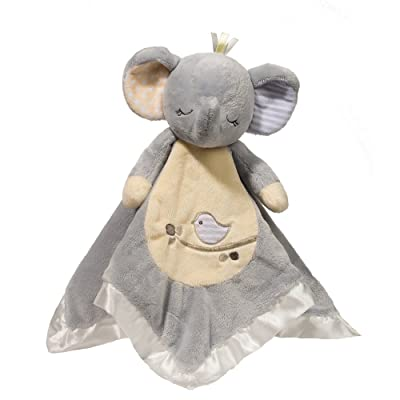 Douglas Baby Gray Elephant Snuggler Plush Stuffed Toy: Toys & Games