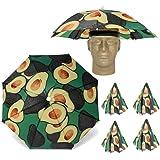 Looney Zoo    Umbrella Hat    Unique Colorful Umbrella Hats - Easy Elastic Fitting Umbrella Hat for Adults & Kids