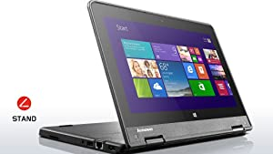 "Lenovo Thinkpad Yoga 11E (3rd Generation) 11.6"" Touchscreen Convertible Ultrabook, Intel N3150 Quad-Core, 128GB Solid State Drive, 4GB DDR3, 802.11ac, Bluetooth, Win10H"