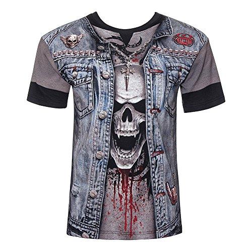 Spiral Direct Thrash Metal T Shirt (Schwarz) - Medium