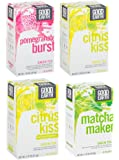 Good Earth Green Tea 4 Flavor Variety Pack, 18 Count Tea Bags (Pack of 4)
