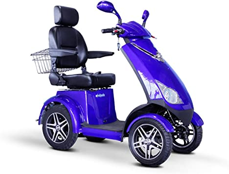 Amazon.com: EW-72 Heavy Duty 4 ruedas Scooter Por e-wheels ...