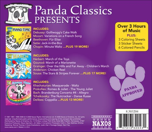 Panda Classic Box Set / Various by Naxos Special Products