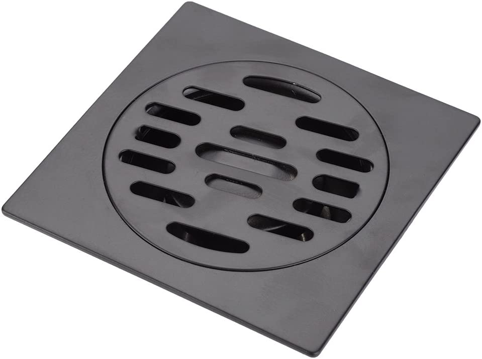 GLOGLOW Floor Drain Thickened Stainless Steel Heavy Duty Home Bathroom Shower Deodorizing Waste Sink Strainer Washer