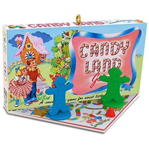 hallmark keepsake family game night 3 christmas candy land holiday ornament - Candyland Christmas Decorations