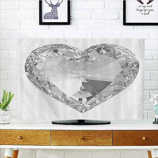 L-QN Proteja su televisor con Forma de corazón y Diamantes ...