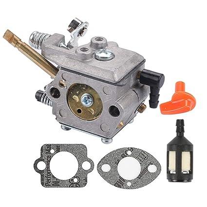 Amazon.com: Mannial WT-38-1 Carburador para Stihl FS50 FS51 ...