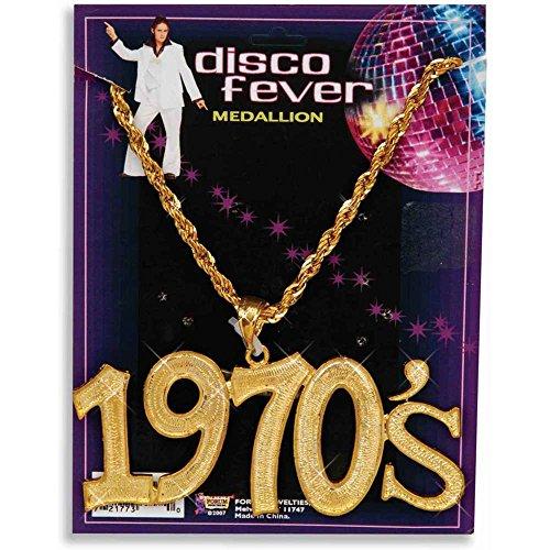 Forum Novelties 1970s Disco Medallion