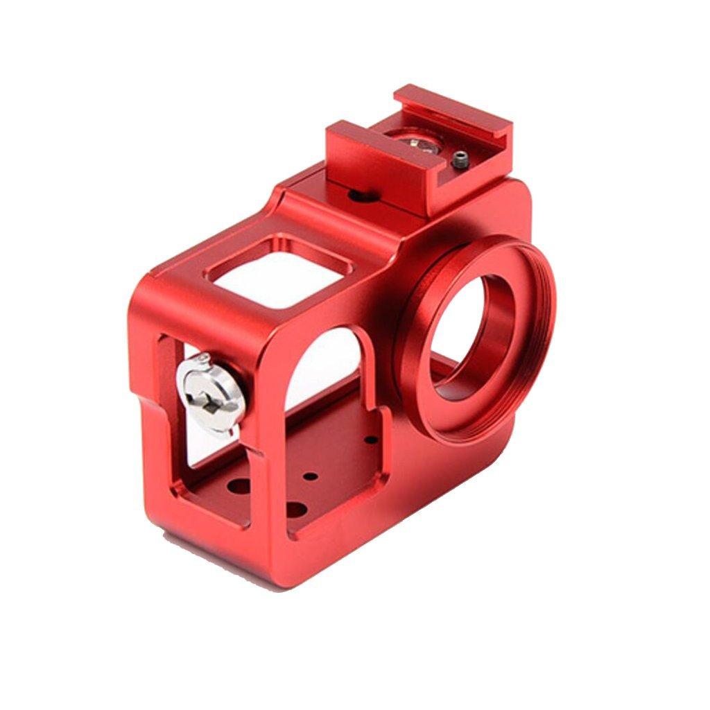 Yifant SJ5000 カメラ用アルミニウム合金メタルハウジングフレーム SJCAM SJ5000/SJ5000 WIFIアクションカメラアクセサリー用保護ケース   B07G4355MR