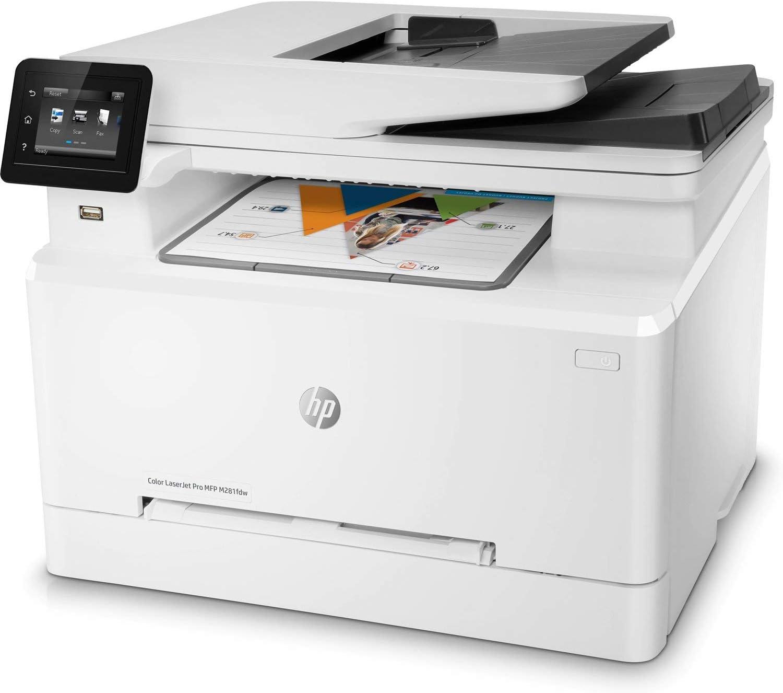 HP Laserjet Pro M281fdw All in One Wireless Color Laser Printer (T6B82A) (Renewed)