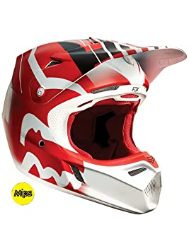Fox Casco V3 Savant Rojo - Rojo, S