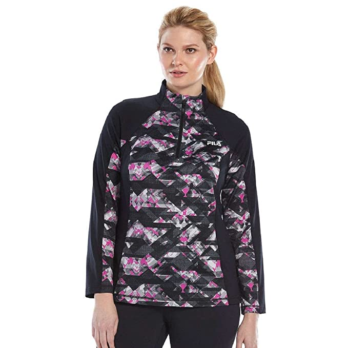 outlet boutique separation shoes how to choose Fila Sport Women's Plus Size Lightweight Pullover Jacket