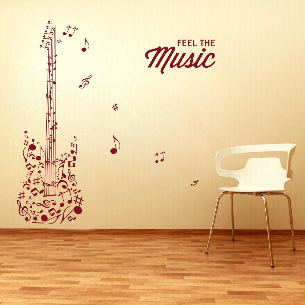 Outstanding Metal Music Notes Wall Decor Adornment - Art & Wall ...