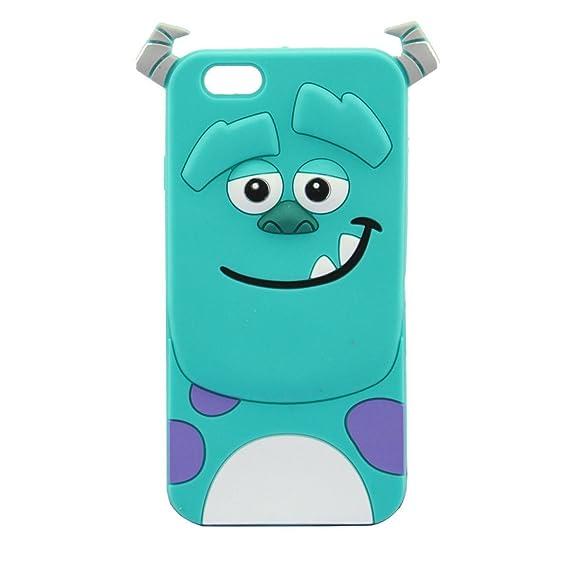 amazon com iphone 6 case maxbomi 3d cute cartoon monster inc