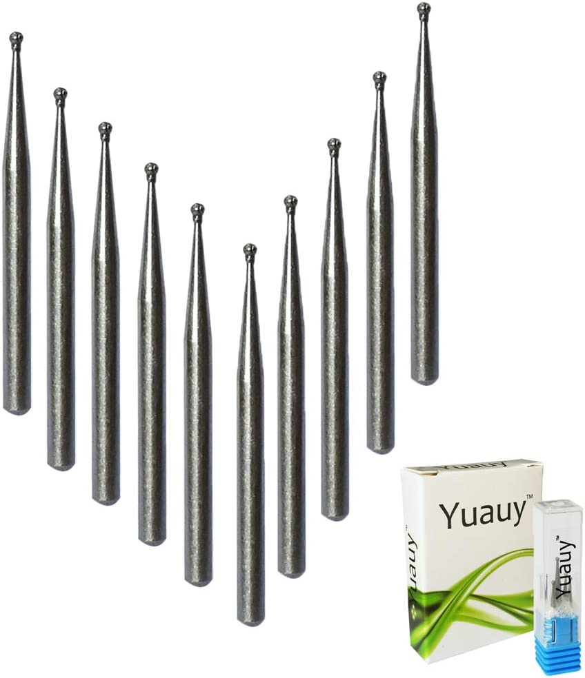 Yuauy 10 puntas de diamante para grabado de punta para reemplazo de punta micro grabador el/éctrico