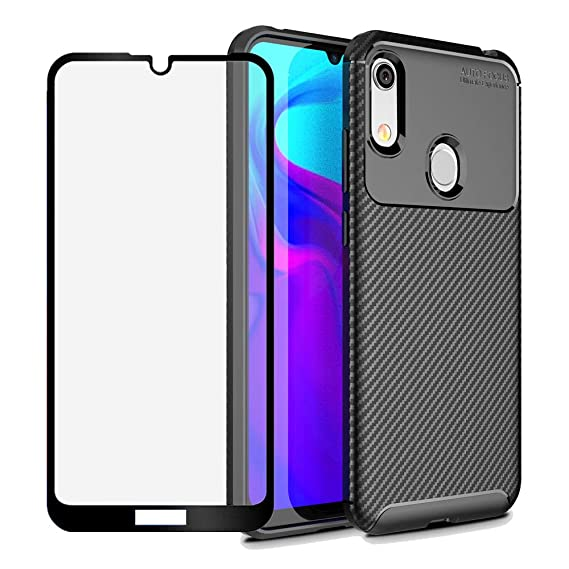 the best attitude d4870 961c8 BestShare for Huawei Honor Play 8A / Huawei Honor 8A Case, Slim fit  Flexible Soft Gel TPU Case Anti-Slip Anti-Scratch Shockproof Cover +  Tempered ...