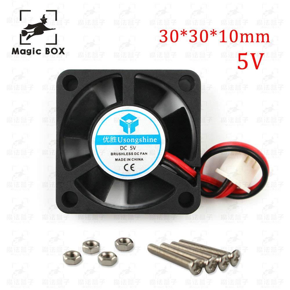 3D Printer Part Fan 3010 2pins 30mm 30x30 x10 mm 3cm Graphics Card Fan DC 5V Size: 24v 12V 24V 3010 2P 1pcs