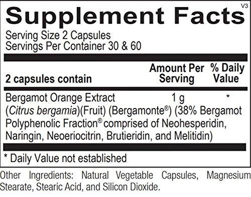 Bergamot BPF, Ortho Molecular Products - 120 Capsules
