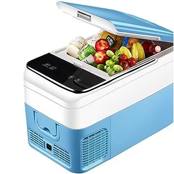 QCYSK Refrigerador/congelador portátil de RV Refrigerador ...