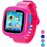 Smart Watch for Kids Girls Boys,Kids Game Smart Watch with Game Camera Touch Screen Pedometer Perfect Holiday Birthday…