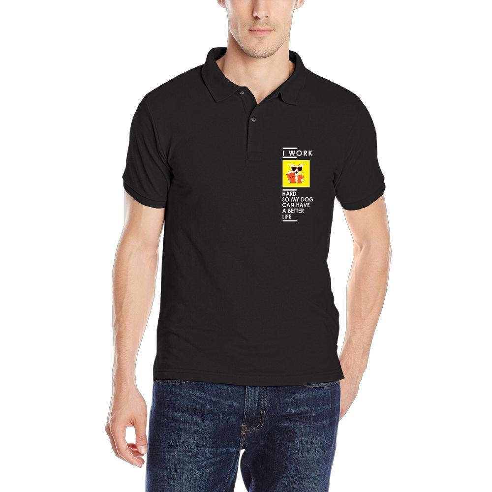Amazon Mens Polo Shirt Short Sleeve With Cool Printing