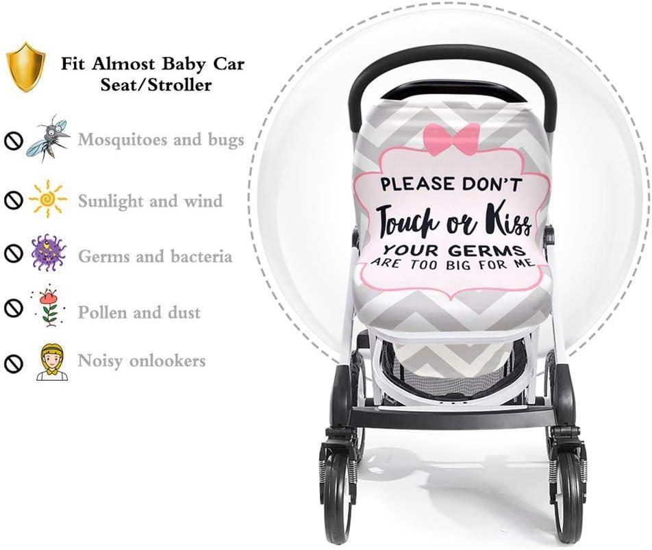 Hochstuhlbezug atmungsaktiv volle Abdeckung Jungen und M/ädchen dehnbar zum Stillen Autositzbezug Einkaufswagen-Bezug f/ür Baby N//D Stillbezug f/ür Neugeborene vielseitig einsetzbar
