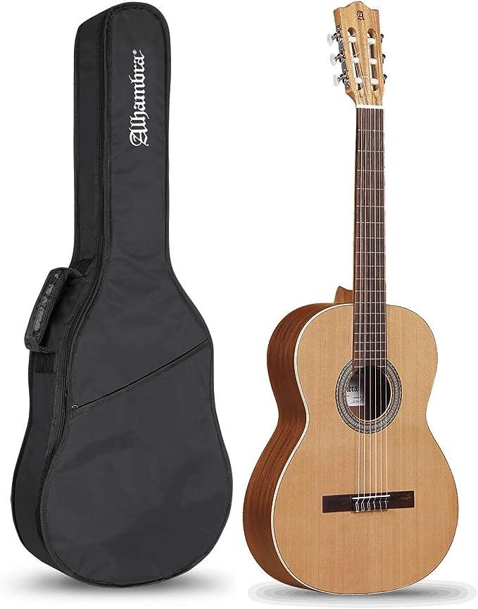Alhambra Z-Nature - Pack Guitarra Clásica Española + Funda: Amazon.es: Instrumentos musicales
