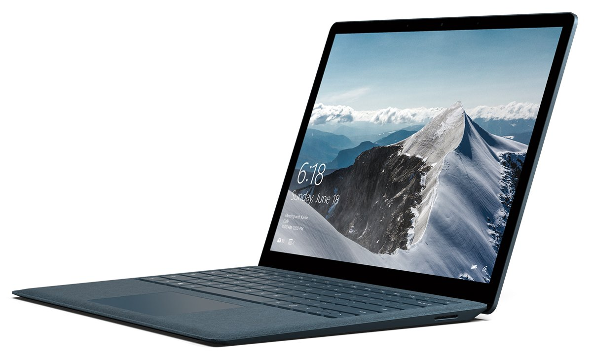 Microsoft Surface Laptop (1st Gen) (Intel Core i5, 8GB RAM, 256GB) - Cobalt Blue