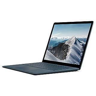 "Microsoft Surface Laptop (1st Gen) DAJ-00061 Laptop (Windows 10 S, Intel Core i7, 13.5"" LCD Screen, Storage: 256 GB, RAM: 8 GB) Cobalt Blue"