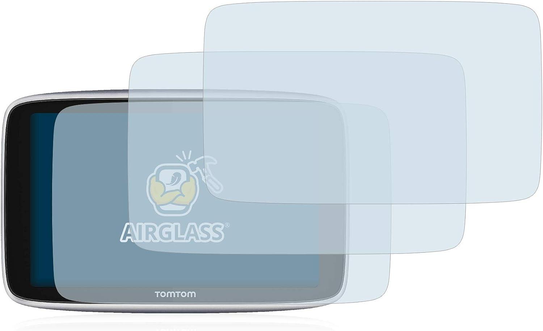 6 brotect Pellicola Protettiva Compatibile con Tomtom Go Camper//Tomtom Go Essential 2 Pezzi Pellicola Trasparente