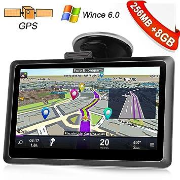 Kainuoa 5 pulgadas 8 GB Truck Europe Truck sistema de navegación GPS de navegación GPS con
