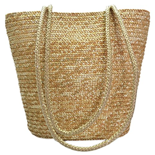 Womens Summer Rattan Shoulder Handbag product image