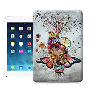 Unique Phone Case Feature artwork Skull,Bird,Butterfly Mixed Pattern Hard Cover for ipad mini cases-buythecase