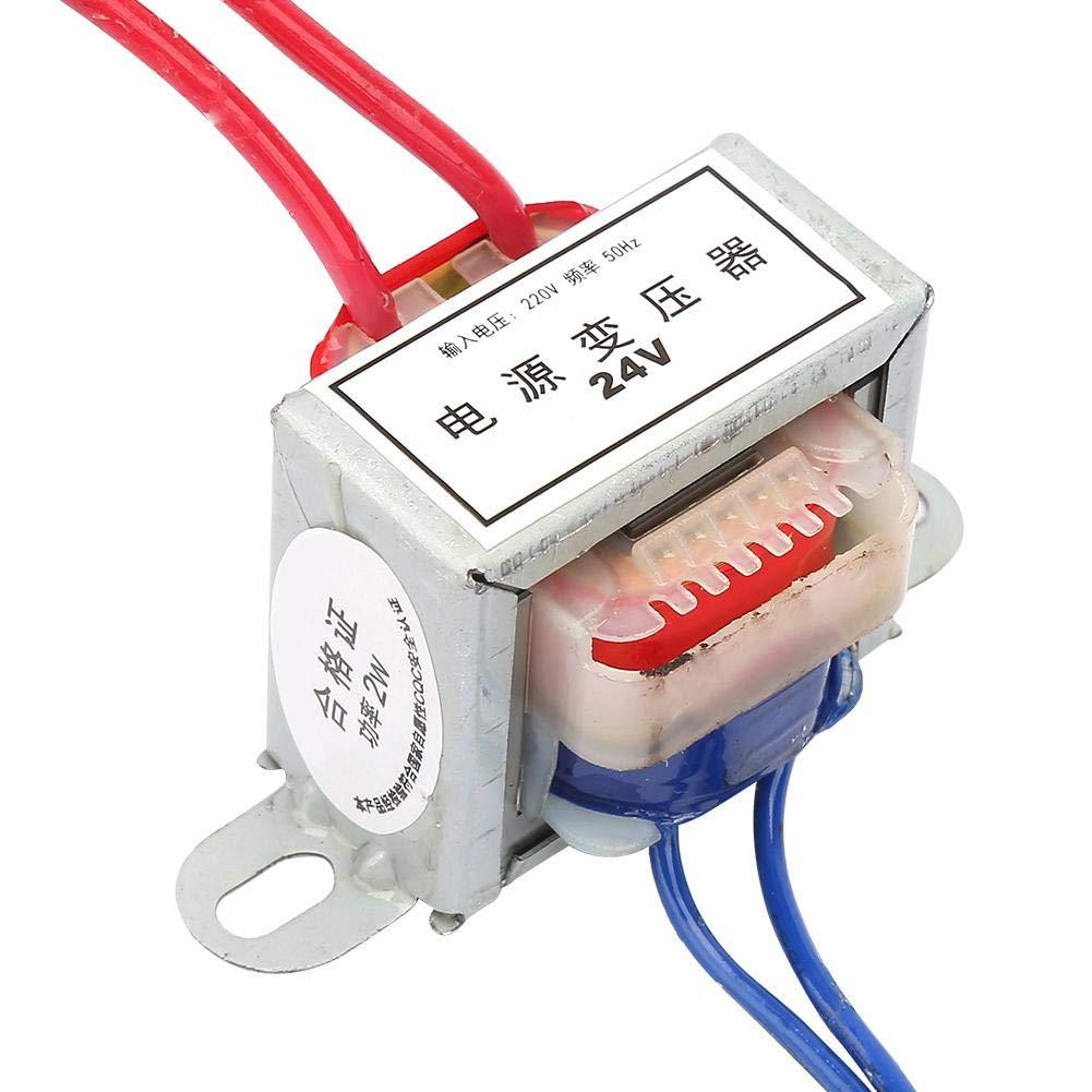 Convertisseur de puissance AC 12V//24V Tension de sortie 2W Entr/ée 220V 50Hz Transformateur de puissance unique 24V