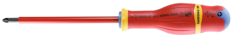 Facom - Tournevis PROTWIST® isolé 1000V / PZ 2 - 6 x 125 Bricodeal FAC3148517761414