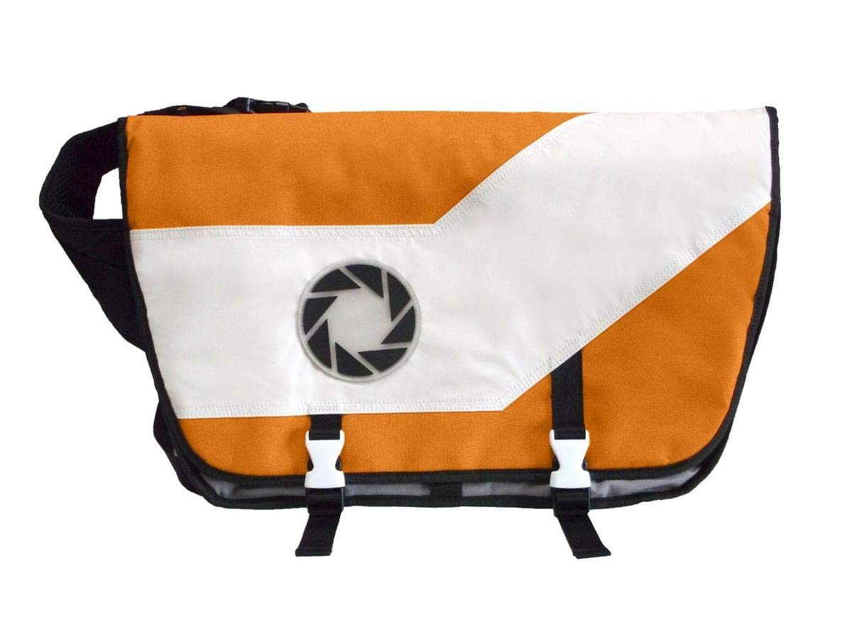 A Crowded Coop - Portal Messenger Bag Aperture Laboratories