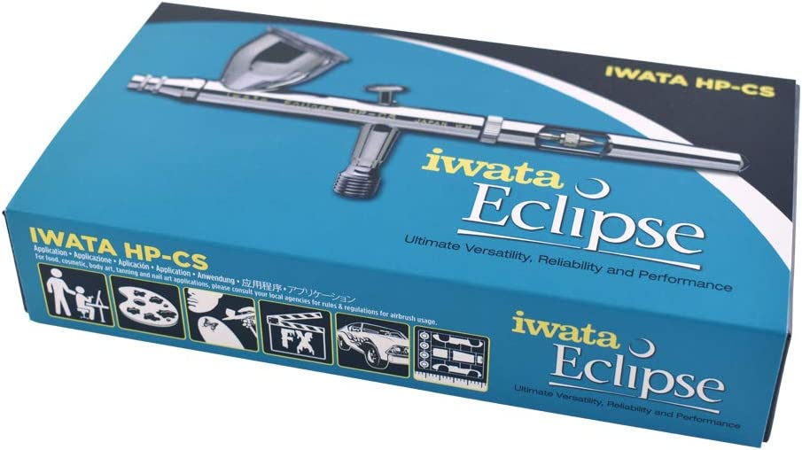 Iwata-Medea Eclipse HP CS Dual Action Airbrush Gun / Gravity Feed