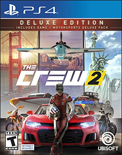 The Crew 2 Deluxe Edition - PS4 [Digital Code] by Ubisoft