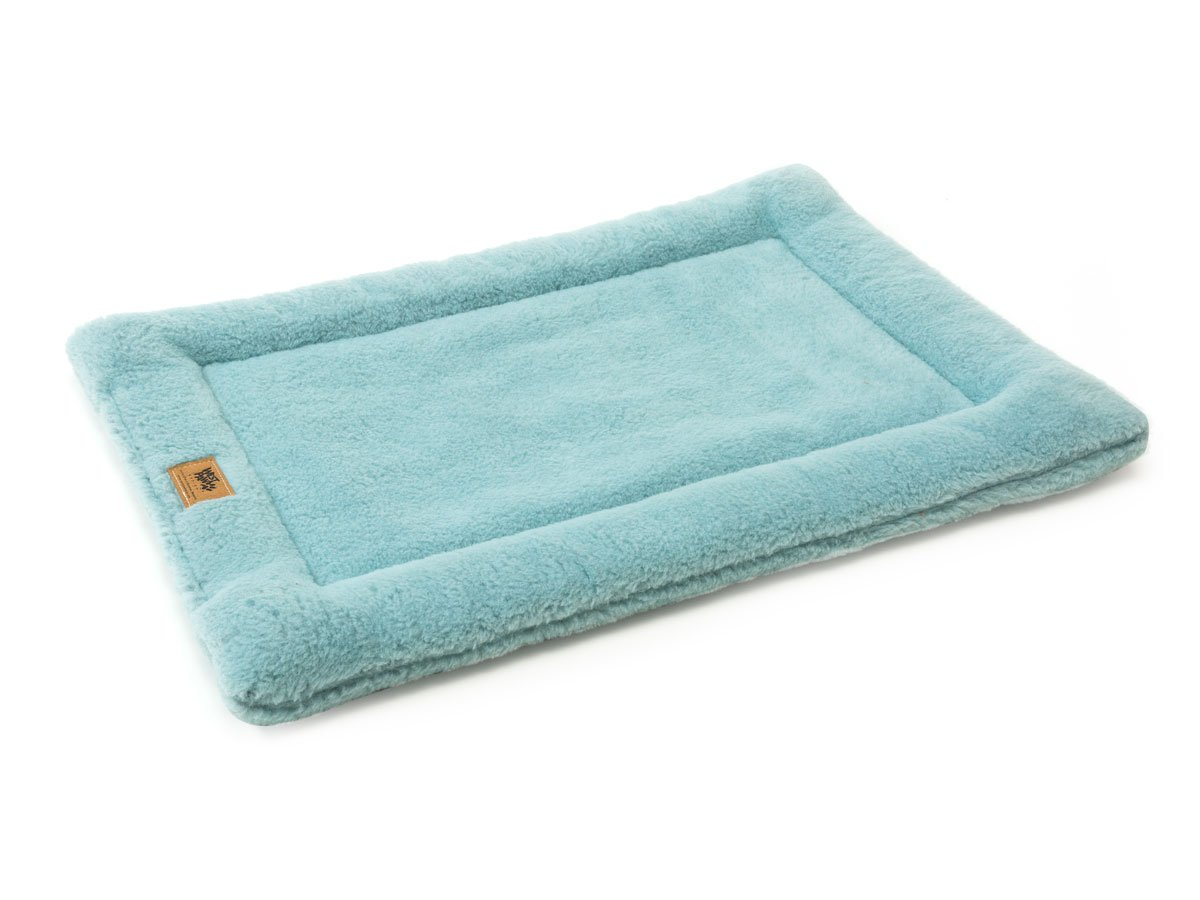 West Paw Design Montana Nap with IntelliLoft Fiber and Fill Durable Lightweight Mat for Dogs and Cats, Made in USA, Robin, Small