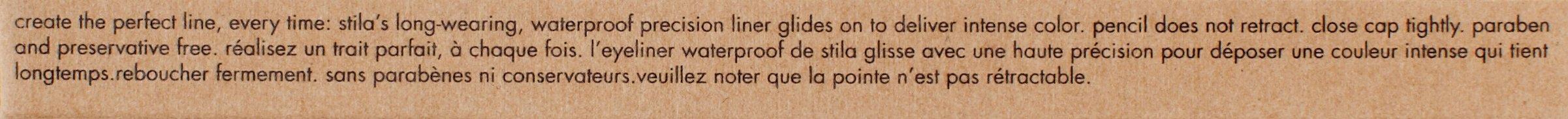 stila Smudge Stick Waterproof Eye Liner, Stingray (Jet Black) by stila (Image #8)