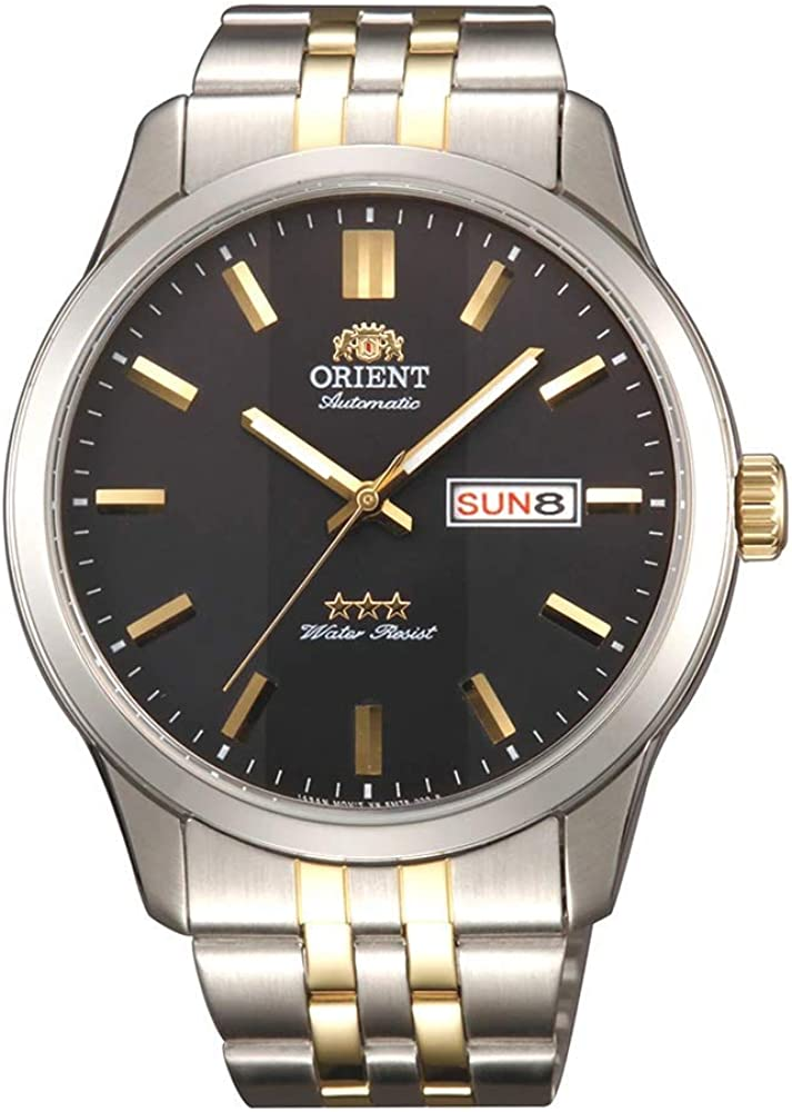 Orient 3 Star Automatic RA AB0011B19B Herrenuhr: Amazon.es