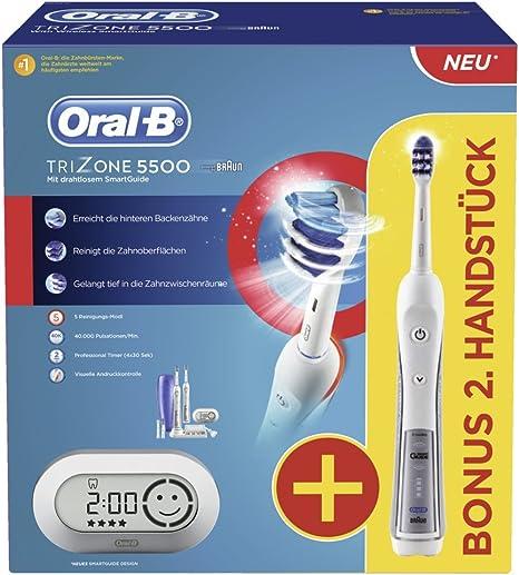 Braun Oral B TriZone 5500 Elektrische Premium Zahnbürste