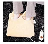 hand and foot warmers electric - WE&ZHE Warm Feet Warm Hands Electric Warm Feet / Lint Electric Warm Shoes, 38 38cm 9 Temperatures To Choose, Can Disassemble And Wash