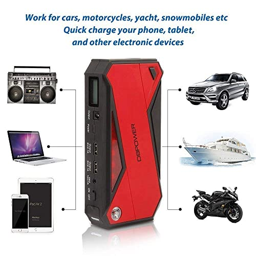 Reliable DBPOWER 600A 18000mAh Portable Car Jump Starter