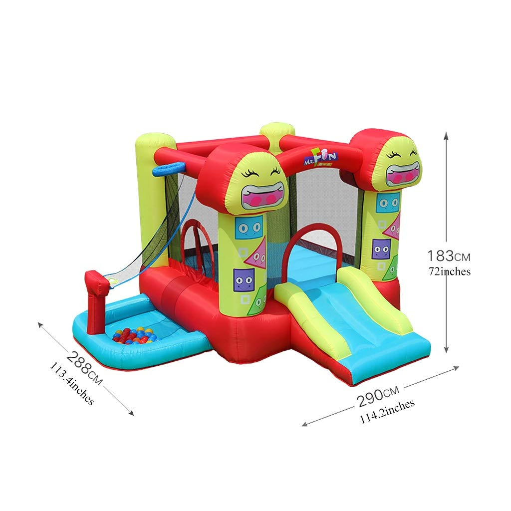Bouncy Castle Smiley - Cama elástica Infantil con Castillo ...