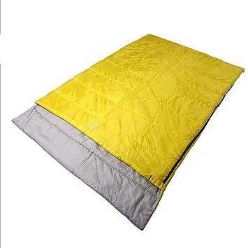 SZH&SHUID saco de dormir al aire libre impermeable y transpirable para 2 personas acampan yendo de