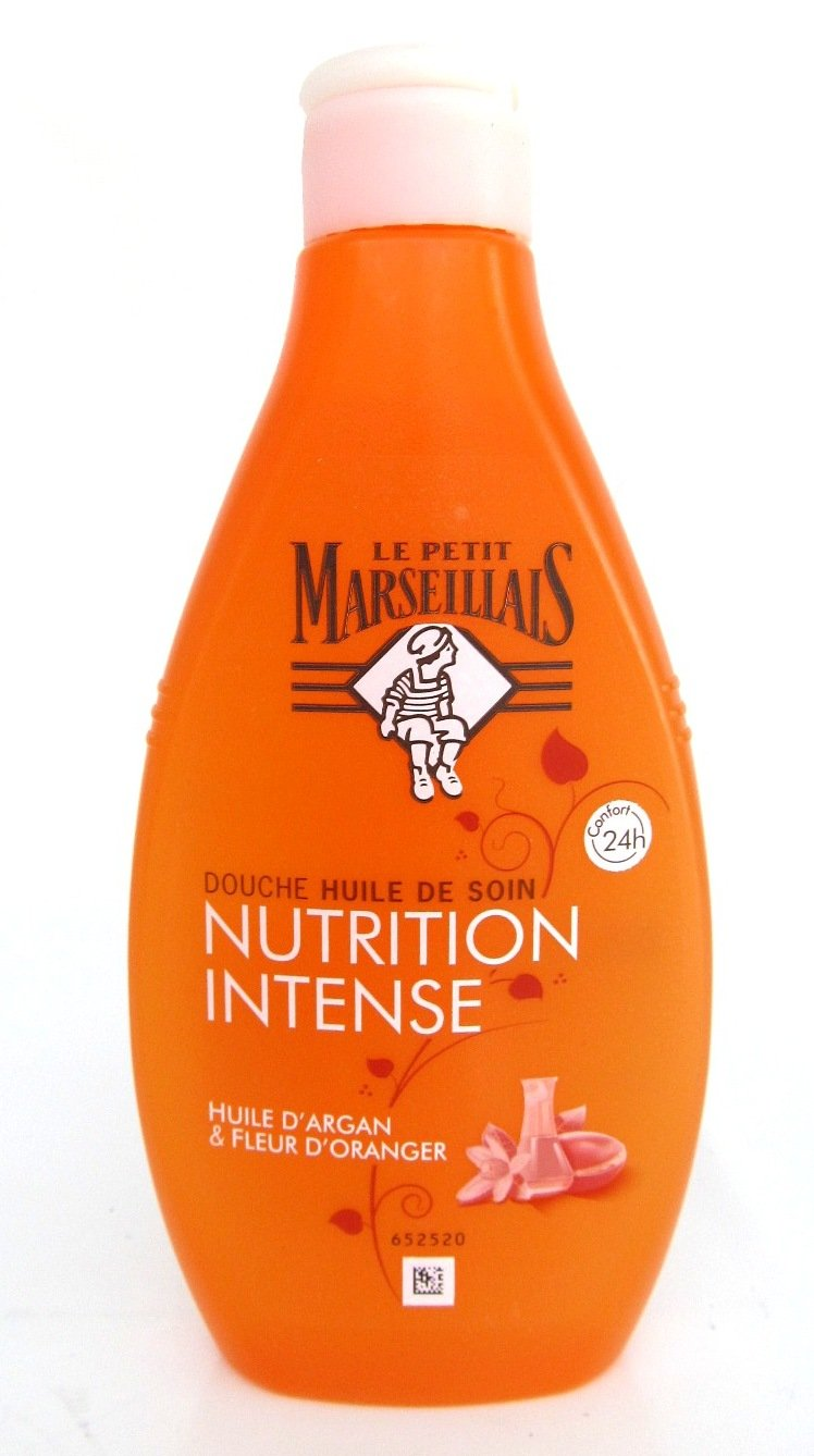Le Petit Marseillais - Shower Lotion - Argan Oil and Orange Blossom - 250 ml - Made in France